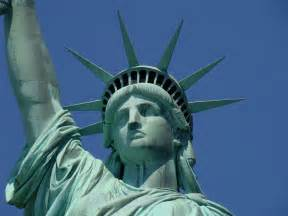 statue of liberty what doth lady liberty wear neath her titanic copper