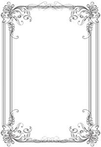 A Frame House ideas for free black clip art borders and frames weddings
