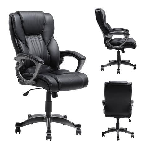 Leather Executive Office Chair Design Ideas Myka S Ergonomic Leather Executive Office Chair Home Furniture Design