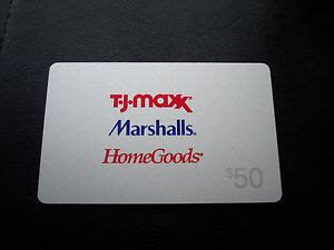 tj maxx marshalls homegoods gift card quot balance 0 00 quot collectible card - Tj Maxx Marshalls Home Goods Gift Card Balance