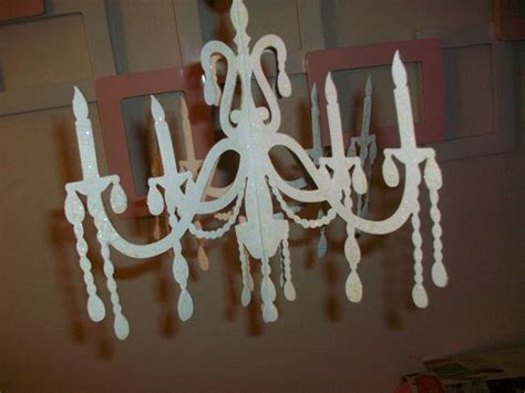 How To Make A Paper Chandelier - my diy projects weddingbee