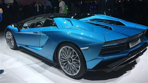 lamborghini aventador s roadster ground clearance the hottest cars at the 2017 frankfurt auto show pcmag com