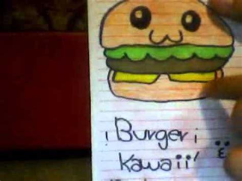 imagenes de hamburguesas kawaii dibujos kawaii n n youtube