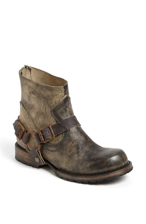 free bird boots freebird by steven hatchet boot in gray grey lyst