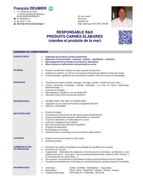 Lettre De Recommandation Ingénieur Modele Cv Ingenieur Agronome Document