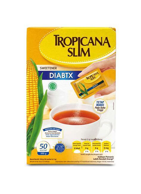 tropicana slim sweetener  calori diabetics box xg
