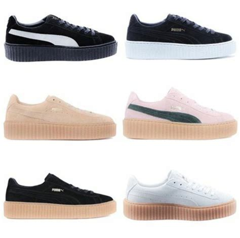 color pumas shoes rihanna shoes colors consumabulbs co uk