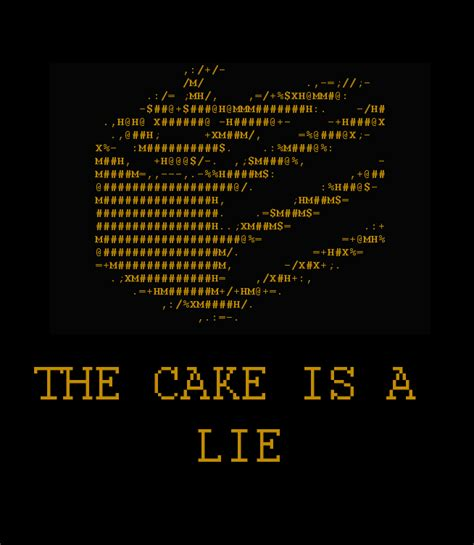 The Cake Is A Lie Meme - 44 spending hearthswarming eve alone not on my watch
