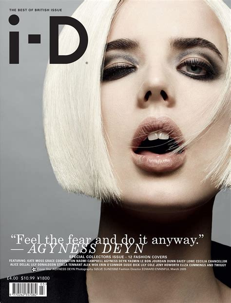 Agyness Deyns 6 I D Covers by Edward Enninful S Most I Conic I D Covers Of The 00s
