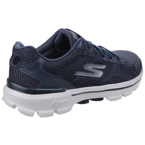 Skechers Knit by Skechers Go Walk 3 Fit Knit S Navy Sports Free