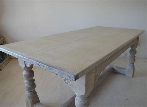 Limed Oak Dining Tables Antique 17th Century Style Limed Oak Dining Table At 1stdibs