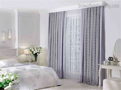 bedroom curtain ideas  short windows