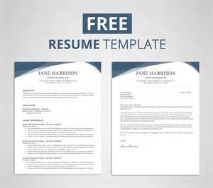 Free Templates For A Resume by Free Resume Template For Word Photoshop Graphicadi
