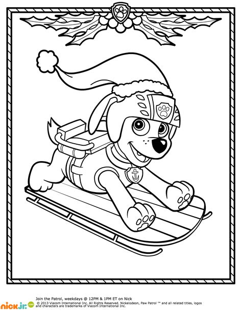 nick jr winter coloring pages paw patrol winter rescues plus a paw patrol coloring page