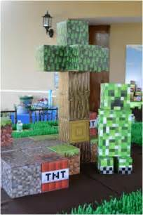boy s minecraft themed 9th birthday spaceships and