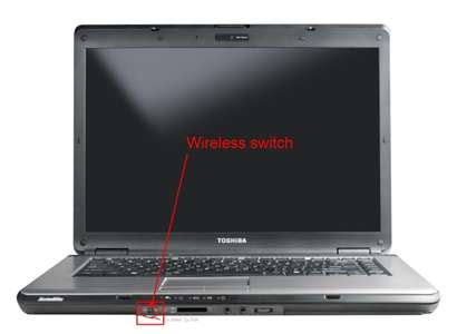 solved wireless does not function on my toshiba laptop fixya