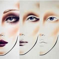 google amazing makeup croqui de rosto para maquiagem search make croqui rostos maquiagens e