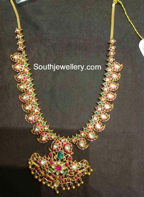 traditional mango mala jewellery designs