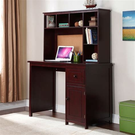 Student Desks With Hutch To It Piper Student Desk With Optional Hutch Set Espresso 199 99 Baby S Room