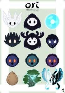 blind characters ori and the blind forest character icons by shadowrewinds