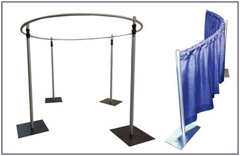 pipe and drape stand pipe and drapes stand aluminum crossbar with basement
