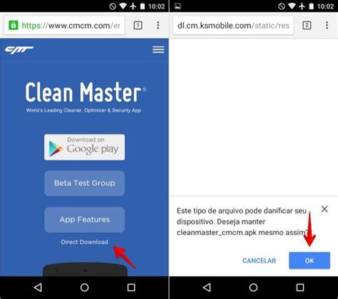 apk clean master como baixar o arquivo apk do aplicativo clean master dicas e tutoriais techtudo