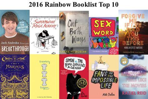 best book list 2016 rainbow book list 171 rainbow book list