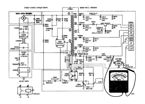 power switch power supply block diagram wiring diagram