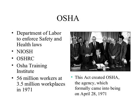osha section 5 a 1 general industry introduction to osha safety