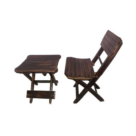 folding table chair set india antique child s wooden folding chair and table set