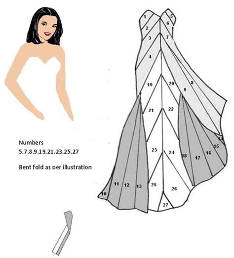 folded dress card template cloudy photo iris folding iris
