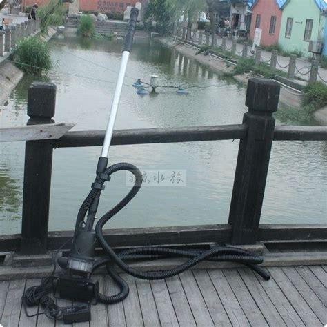 Mesin Vacuum Cleaner boyu aquarium wnq 1 koi fish pond cleaner fish pond vacuum cleaner suction sewage