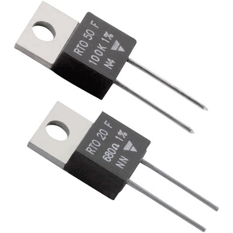 to 220 power resistor vishay rto seriesthick 50w 1 to 220 power resistors rapid