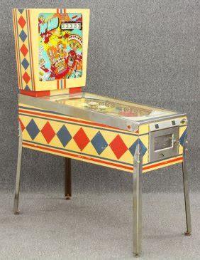 Pinball Card Template by 1456 D Gottlieb Vintage Pinball Machine Top Card Lot 1456
