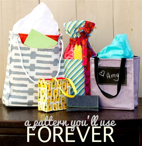 pattern gift bags fabric gift bags pattern free sewtorial
