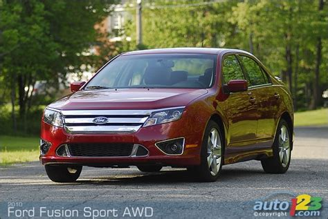 2010 ford fusion mpg 2010 ford fusion awd mpg