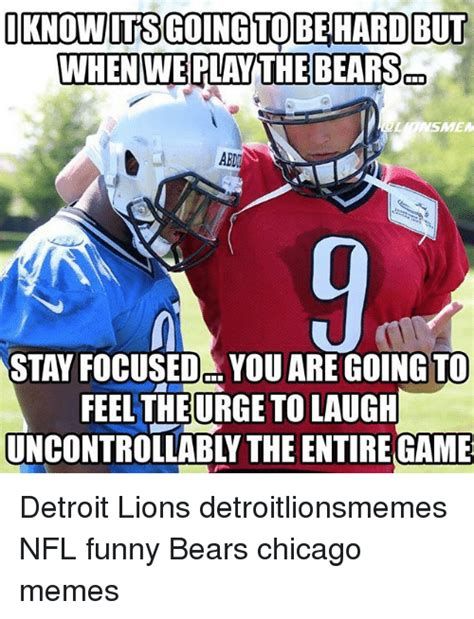 Funny Chicago Bears Memes - funny detroit detroit lions memes and nfl memes of 2017