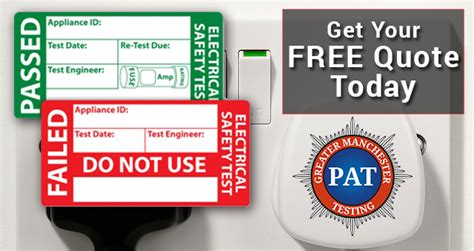 Get Your Free Cma Today Price Calculator Pat Testing Greater Manchester Pat Testing