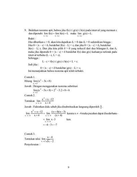 Pengantar Kalkulus pengantar kalkulus