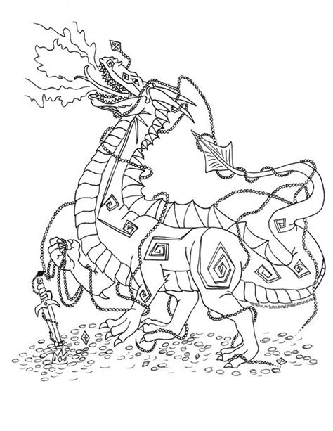 mythical dragons coloring pages bejewled dragon dragon fantasy myth mythical mystical
