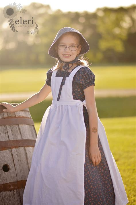 The Litte Brown Dress Project by Ingalls Wilder Costumes The Sew And Tell Project