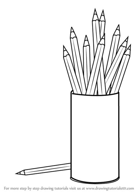 best color pencil for coloring book learn how to draw coloring pencil box everyday objects