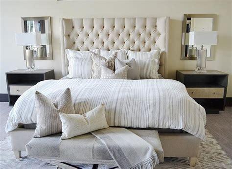 master bedroom nightstand ls mirrors behind bedside ls bedroom pinterest