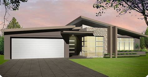 Skillion Roof House Plans Skillion Roof Roofline Of Garage Home Sweet Home House Facades House And Modern