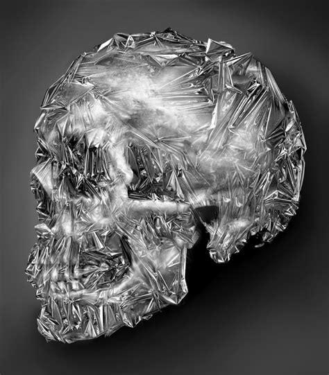 Skull Foil Skulls By Eddie Yau