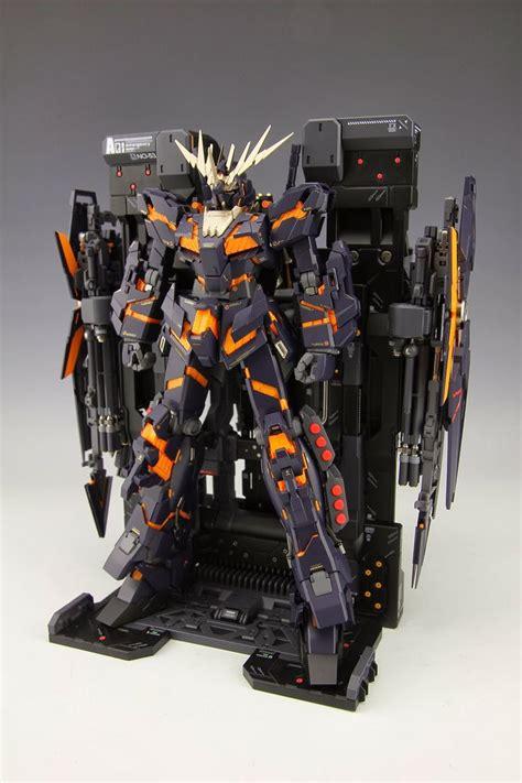 Pg Banshee By Parkz Toys Hobbies mg 100 rx 0 armor unicorn gundam 02 banshee custom