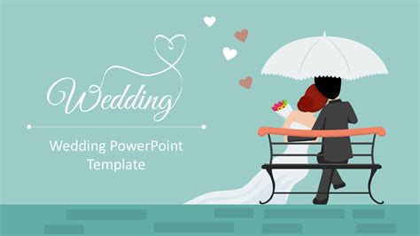 powerpoint templates for picture slideshow wedding powerpoint template slidemodel