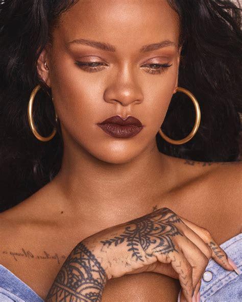 Lipstik Fenty fenty lipstick rihanna unveils 14 new matte lip shades