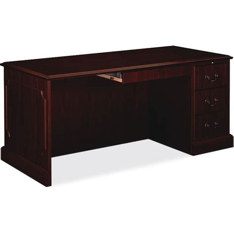 right single pedestal desk hon 94283rnn 94000 series right single pedestal desk the