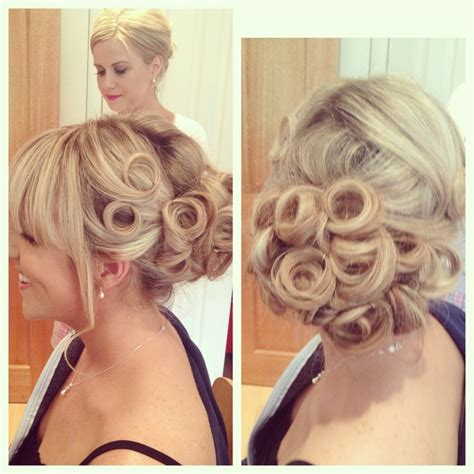 what year was pin curls bridal hair with pin curls updos pinterest